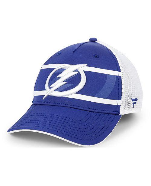 Authentic NHL Headwear Tampa Bay Lightning 2nd Season Trucker Adjustable Snapback Cap