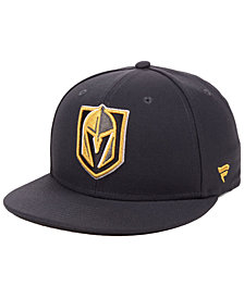 Authentic NHL Headwear Vegas Golden Knights NHL Basic Fan Fitted Cap