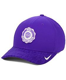 save off ee0b4 8bd6d Nike LSU Tigers Rivalry Swooshflex Stretch Fitted Cap