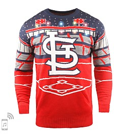 Forever Collectibles Men's St. Louis Cardinals Bluetooth Ugly Sweater