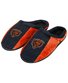 Forever Collectibles Chicago Bears Knit Cup Sole Slippers