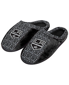 Forever Collectibles Los Angeles Kings Knit Cup Sole Slippers