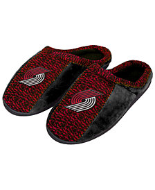 Forever Collectibles Portland Trail Blazers Knit Cup Sole Slippers