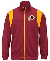 30d4e2a6d G-III Sports Men s Washington Redskins Clutch Time Track Jacket