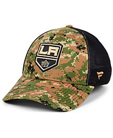 Authentic NHL Headwear Los Angeles Kings Military Appreciation Speed Flex Stretch Fitted Cap