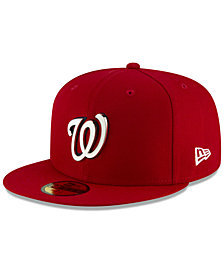 New Era Washington Nationals Metal & Thread 59FIFTY-FITTED Cap