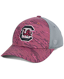 Top of the World South Carolina Gamecocks Tiger Camo Flex Stretch Fitted Cap
