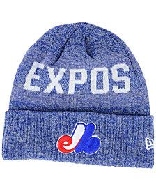 New Era Montreal Expos Crisp Color Cuff Knit Hat