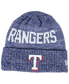 New Era Texas Rangers Crisp Color Cuff Knit Hat