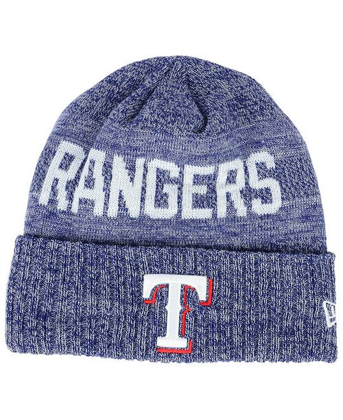 quality design 42e5a 7e847 ... australia new era. texas rangers crisp color cuff knit hat. be the  first to