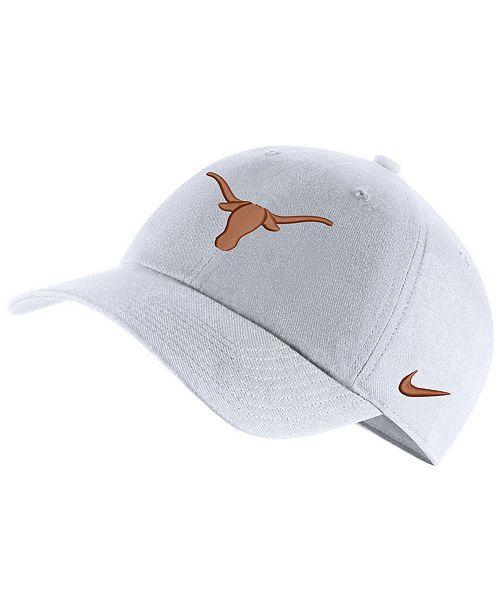 Nike Texas Longhorns Core Easy Adjustable Strapback Cap