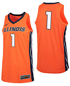 Nike Men's Illinois Fighting Illini Replica Basketball Jersey