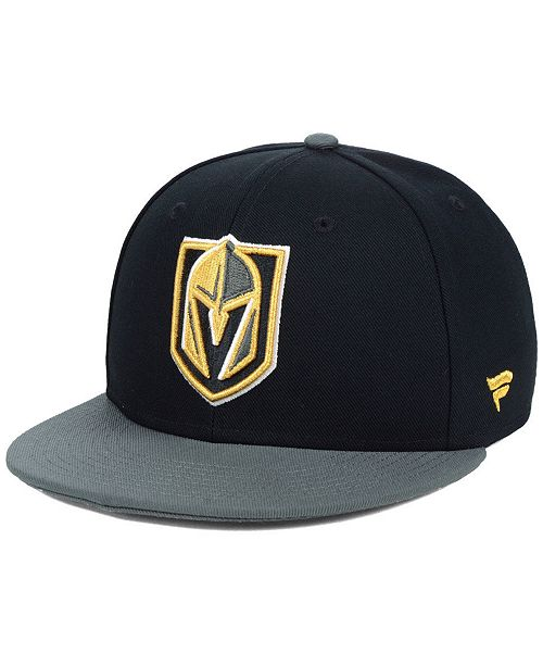 Authentic NHL Headwear Vegas Golden Knights Basic Fan Fitted Cap