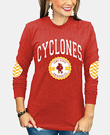 Gameday Couture Women's Iowa State Cyclones Elbow Patch Long Sleeve T-Shirt
