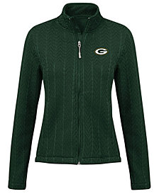 G-III Sports Women's Green Bay Packers Poly Full-Zip Jacket