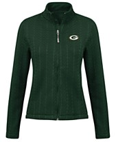 G-III Sports Women s Green Bay Packers Poly Full-Zip Jacket 27b3032b6