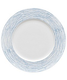 Hammock Rim  Dinner Plate - Stripes, Created for Macy's