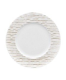 Hammock Rim  Salad Plate - Stripes, Created for Macy's