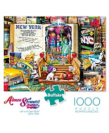Aimee Stewart Collection - Life is an Open Book - New York- 1000 Pcs Puzzle