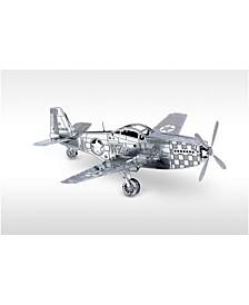 Metal Earth 3D Metal Model Kit - P-51 Mustang