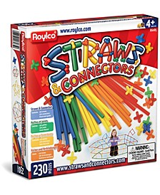 Straws and Connectors - 230 Piece Set
