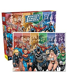 DC Comics - Justice League of America Jigsaw Puzzle - 1000 Piece