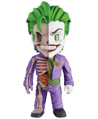 4D Xxray Dissected Vinyl Art Figure - Dc Justice League Comics - The Joker