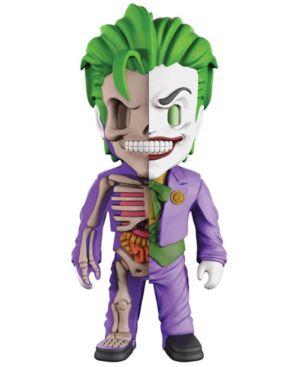 Image of 4D Xxray Dissected Vinyl Art Figure - Dc Justice League Comics - The Joker