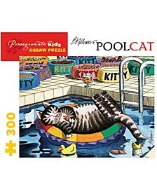 B. Kliban - Pool Cat Jigsaw Puzzle- 300 Pieces