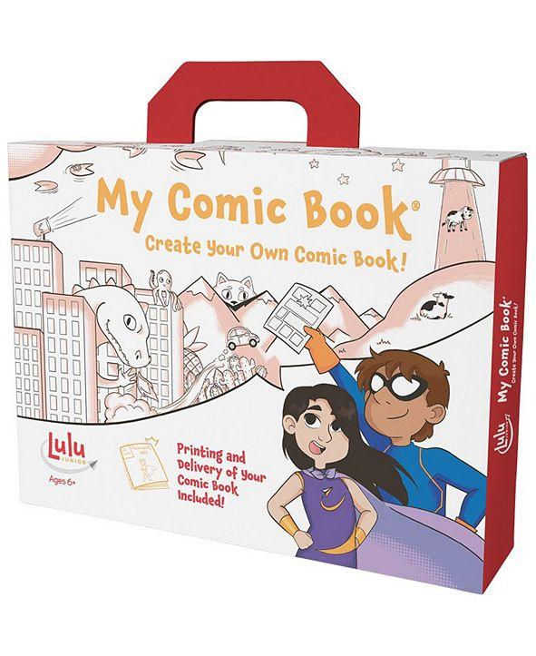 Lulu Jr. My Comic Book - Create Your Own Comic Book!