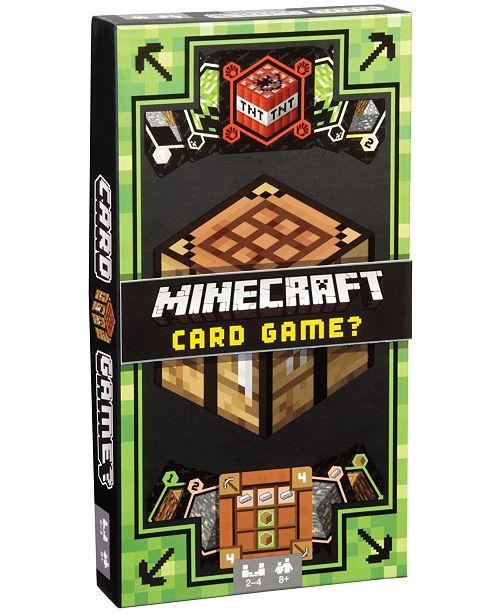Mattel Minecraft Card Game?