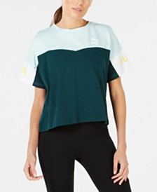 Puma XTG Cotton Colorblocked T-Shirt