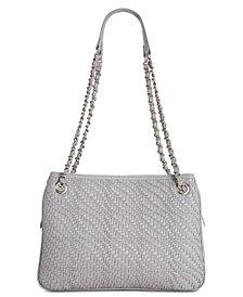 I.N.C. Blakke Woven Shoulder Bag, Created for Macy's
