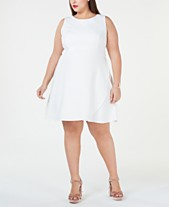 6939f7e417ef Betsey Johnson Plus Size Cutaway A-Line Dress
