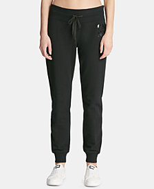 DKNY Sport Lacquer-Logo Joggers, Created for Macy's
