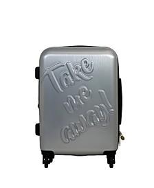 """Take me Away 25"""" Spinner Suitcase"""