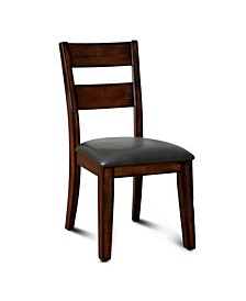 Arlen Dark Cherry Dining Chair (Set of 2)