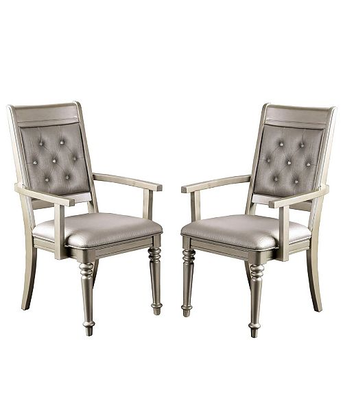 Furniture of America Drew Arm Chair (Set Of 2)