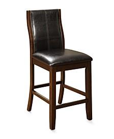 Egnew Dark Oak Pub Chair (Set of 2)