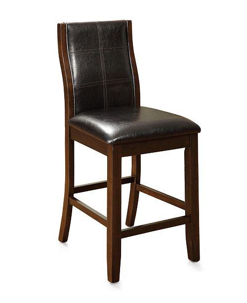 Furniture of America Egnew Pub Chair (Set Of 2)