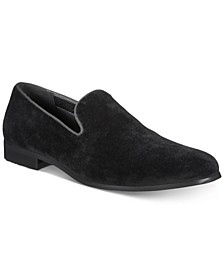INC Men's Trace Velvet Loafers, Created for Macy's