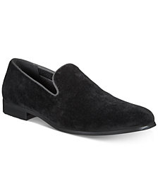 I.N.C. Men's Trace Velvet Loafers, Created for Macy's
