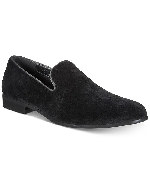 INC International Concepts I.N.C. Men's Trace Velvet Loafers, Created for Macy's