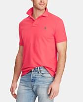 31cb4c1c9628 Polo Ralph Lauren Men s Custom Slim Fit Mesh Polo