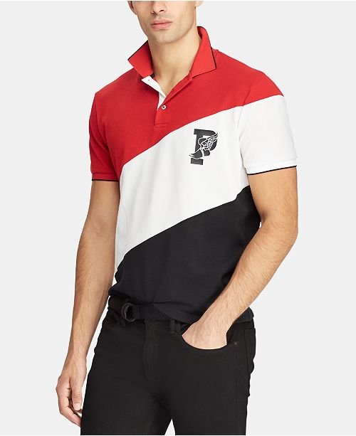 Polo Ralph Lauren Men's P-Wing Stretch Mesh Polo