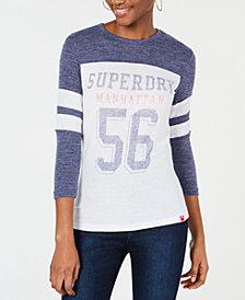 Superdry 3/4-Sleeve Baseball T-Shirt