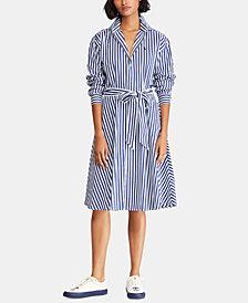 Polo Ralph Lauren Broadcloth Cotton Shirtdress