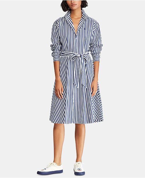 e334cb12a1f7 Polo Ralph Lauren Broadcloth Cotton Shirtdress   Reviews - Dresses ...