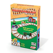 Junior Learning Subtraction Tracks Board Game