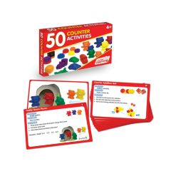 Junior Learning 50 Counter Activities Learning Set